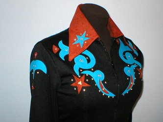 Western show clothes gypsy girl western show wear